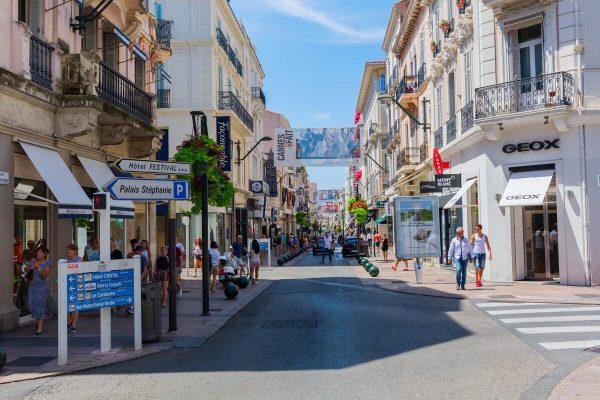 Boutiques à Cannes